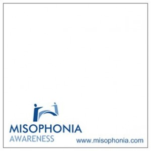misophonia awareness sticky note pad