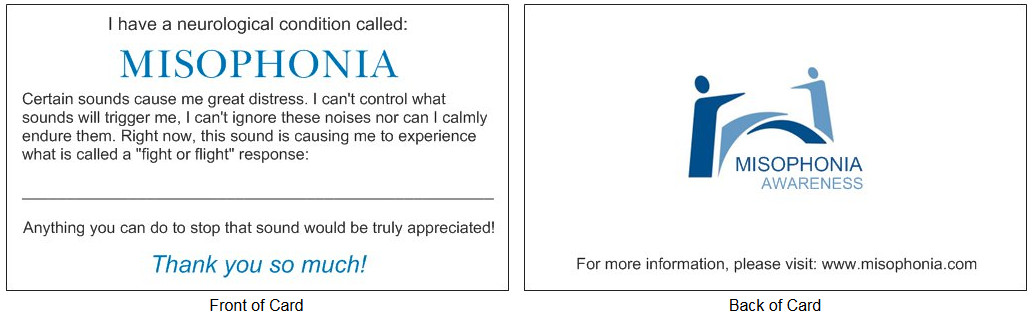 misophonia courtesy card design 1